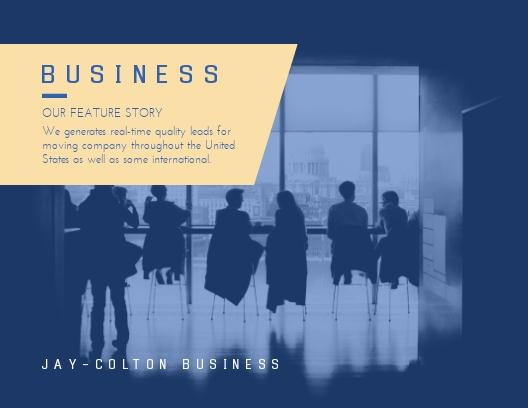 Business - Postcard Template