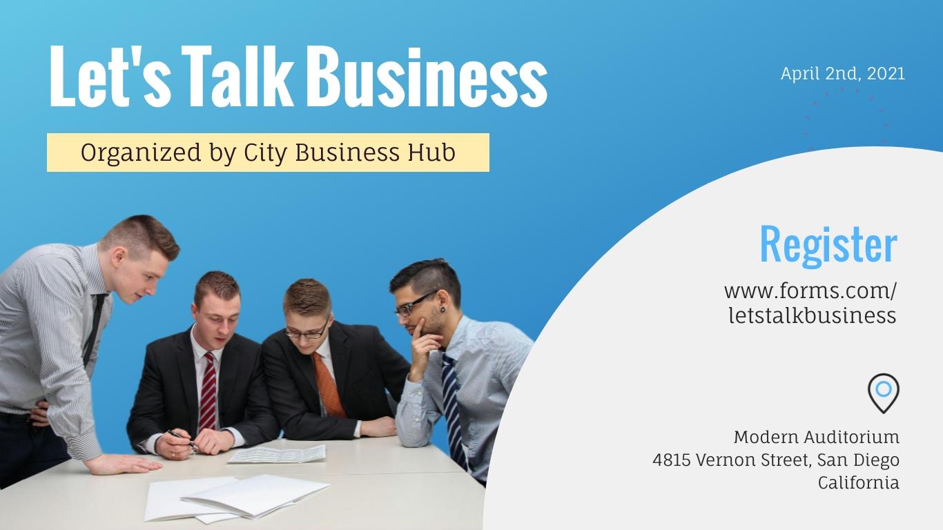 Business Seminar - Facebook Event Cover Template