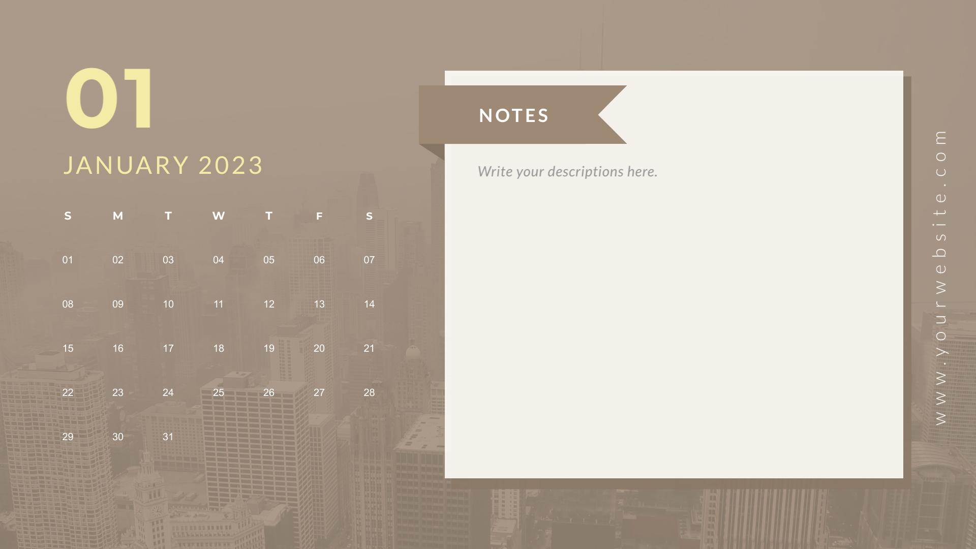 Business - Calendar Template