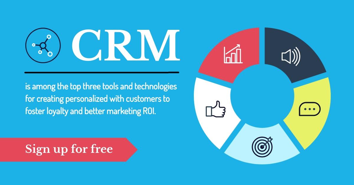 CRM Software LinkedIn Sponsored Content Template