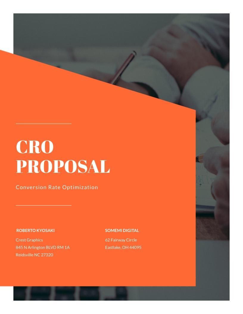 CRO - Proposal Template