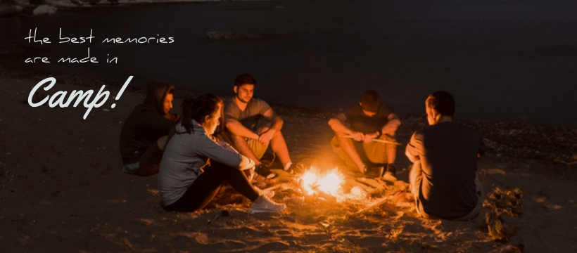 Camping - Facebook Page Cover Template