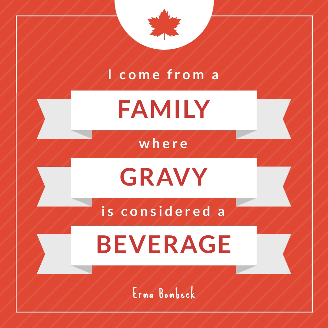 Canada Day Quote - Instagram Post Template