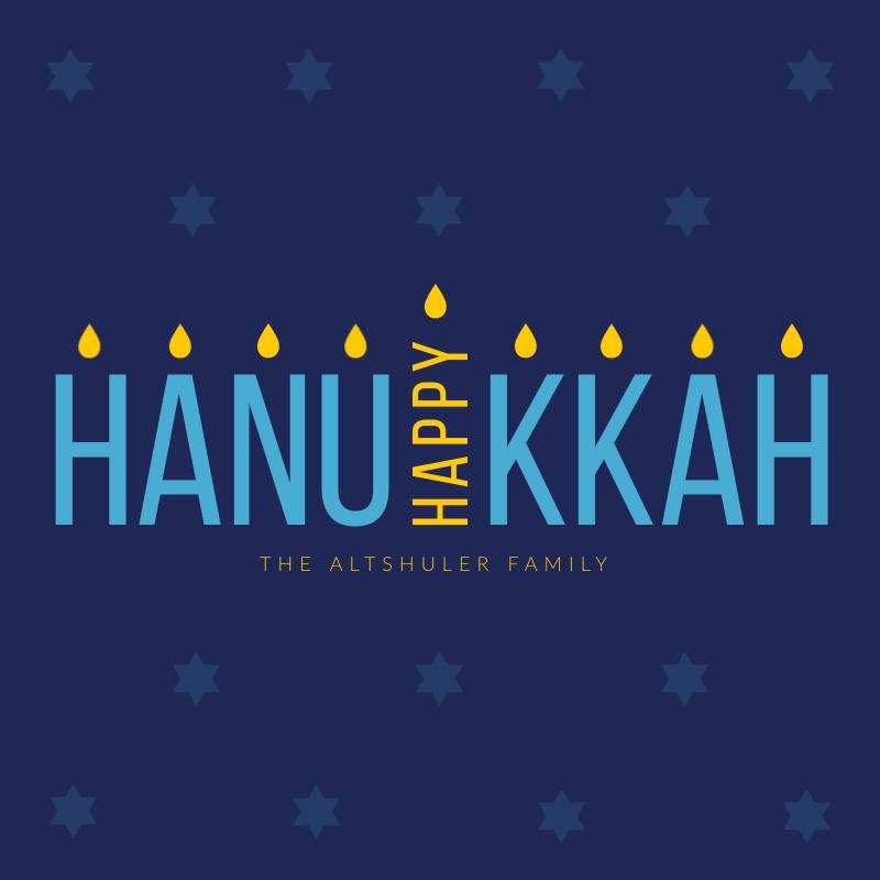 Candle Hanukkah Blog Graphic Medium   Template