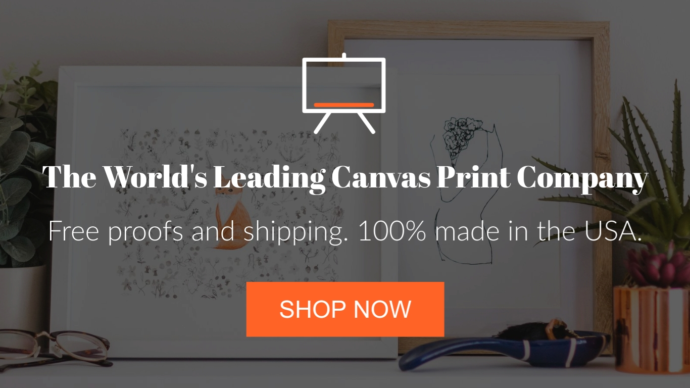 Canvas Printing - Twitter Ad Template