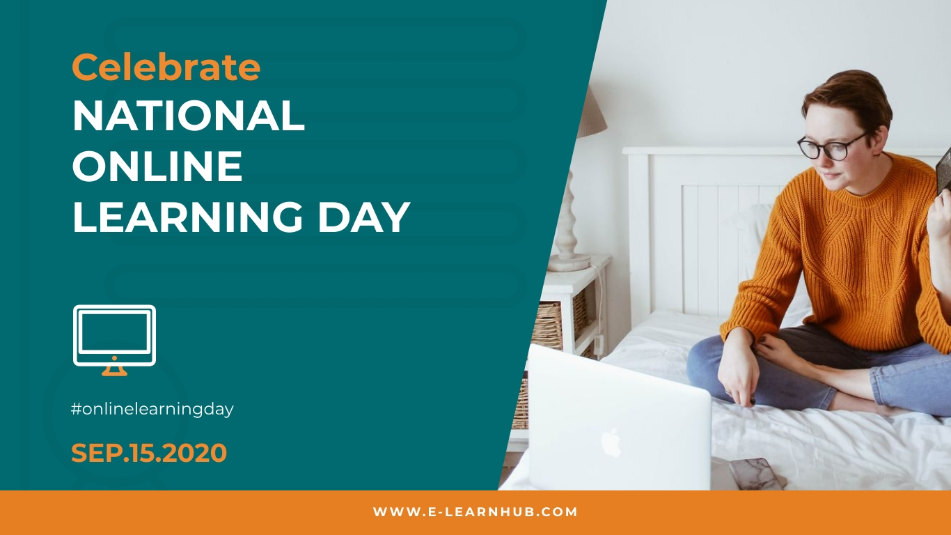Celebrate Online Learning Day Animated Wide Template