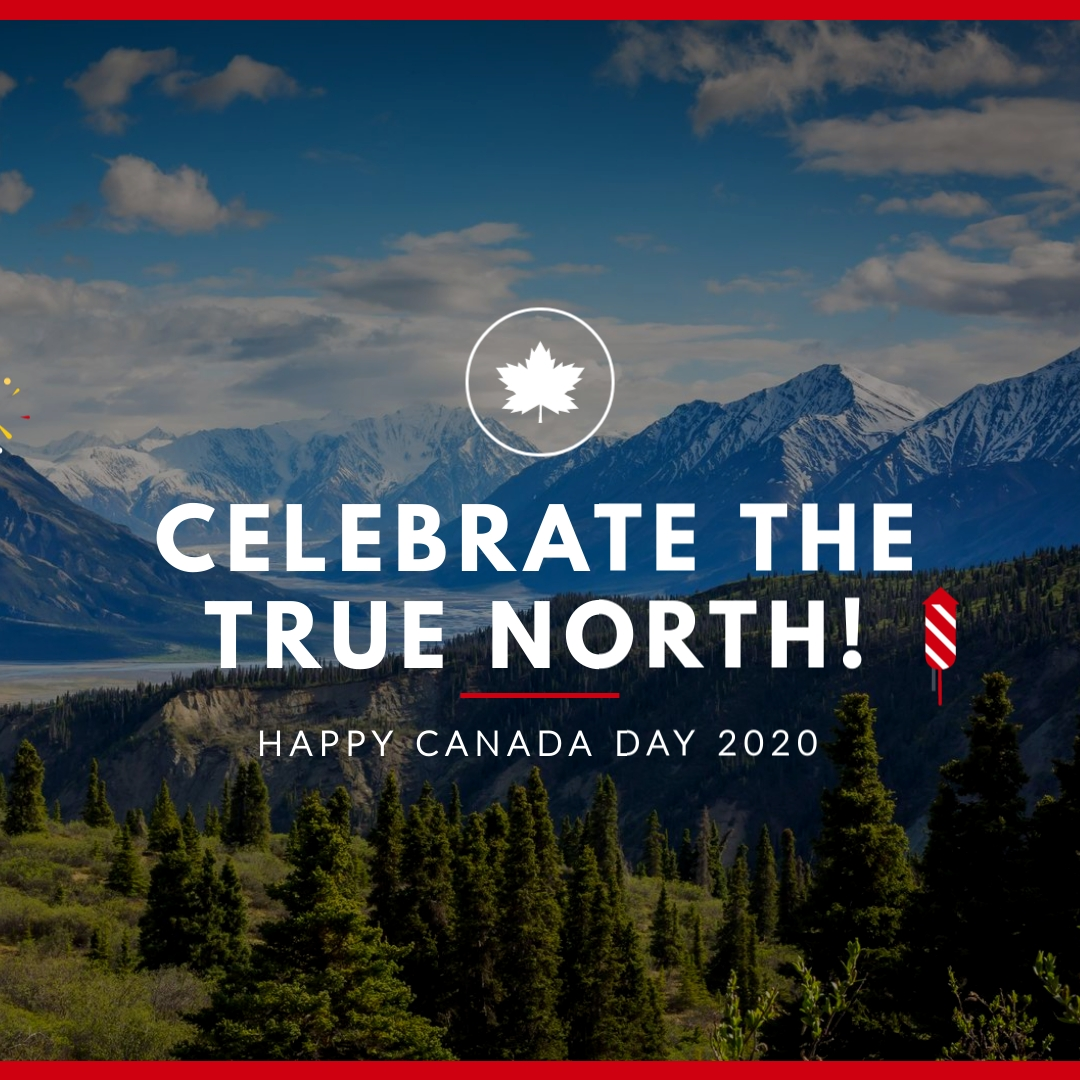 Celebrate the True North Animated Square Template