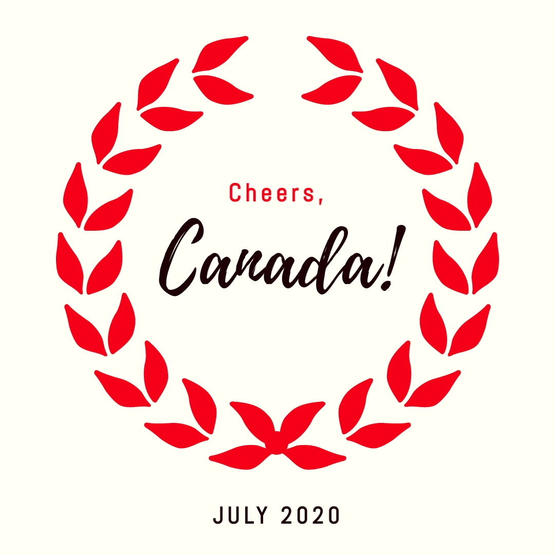 Cheers Canada Square Template