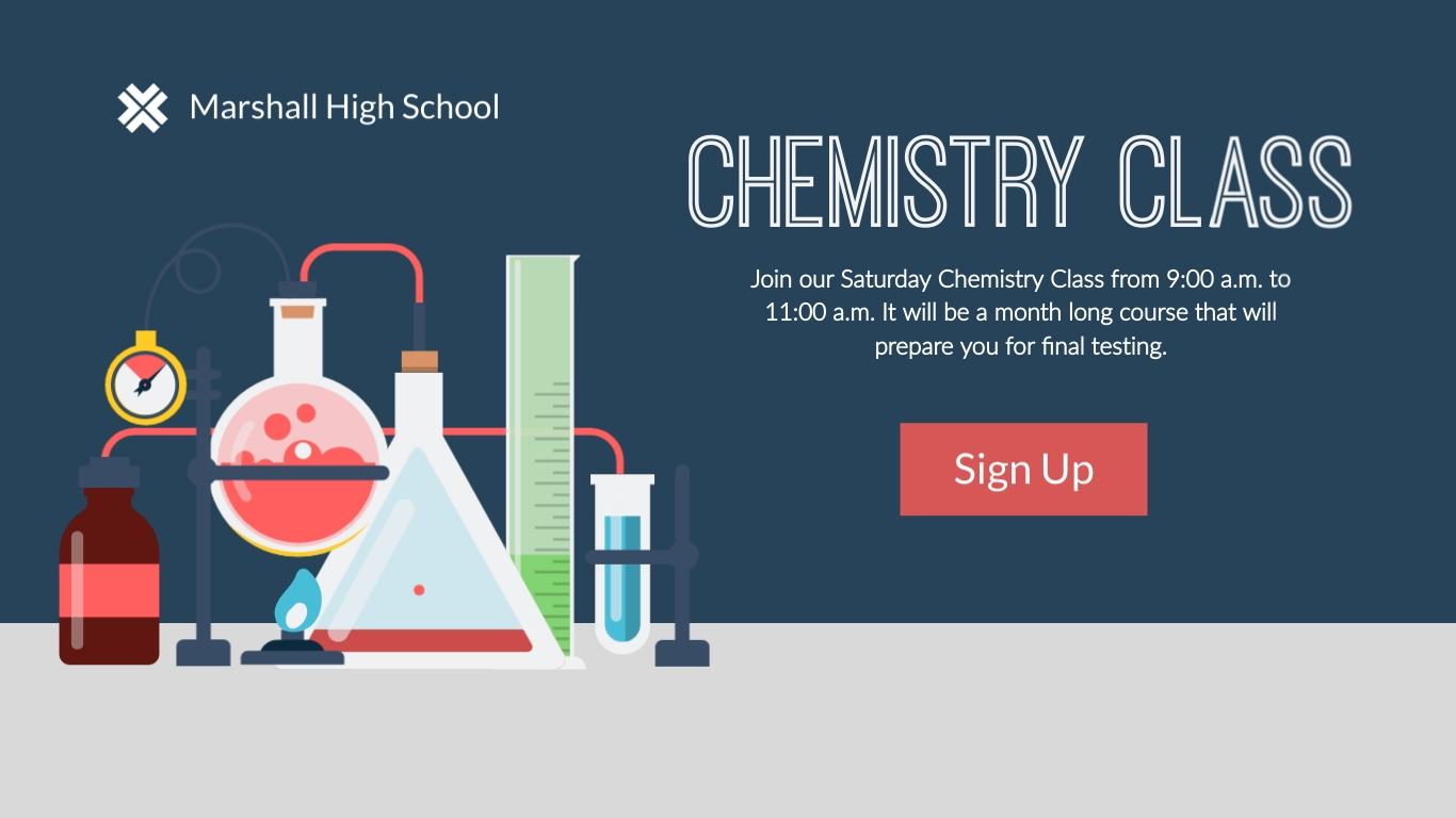 Chemistry Class Wide Template