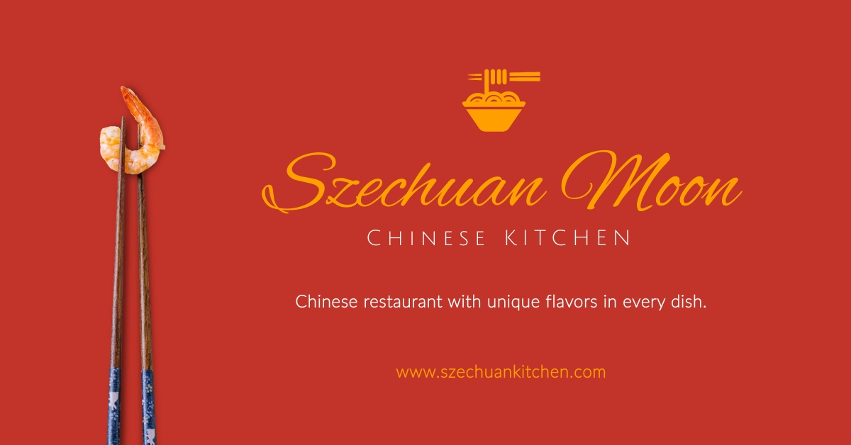 Chinese Kitchen Facebook Ad   Template