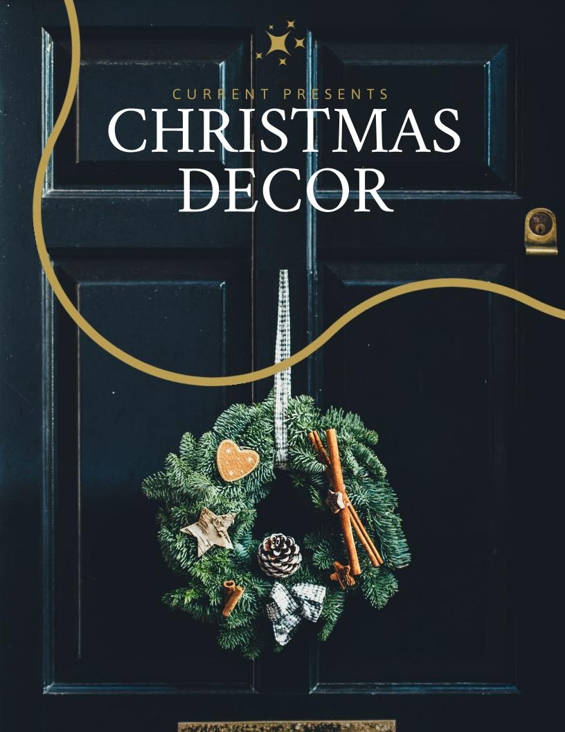 Christmas Catalog Template