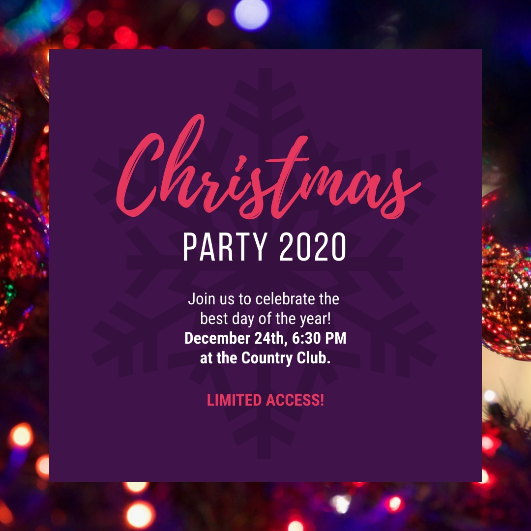 Christmas Party Instagram Post Template