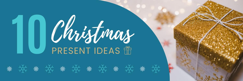 Christmas Present Twitter Header Template