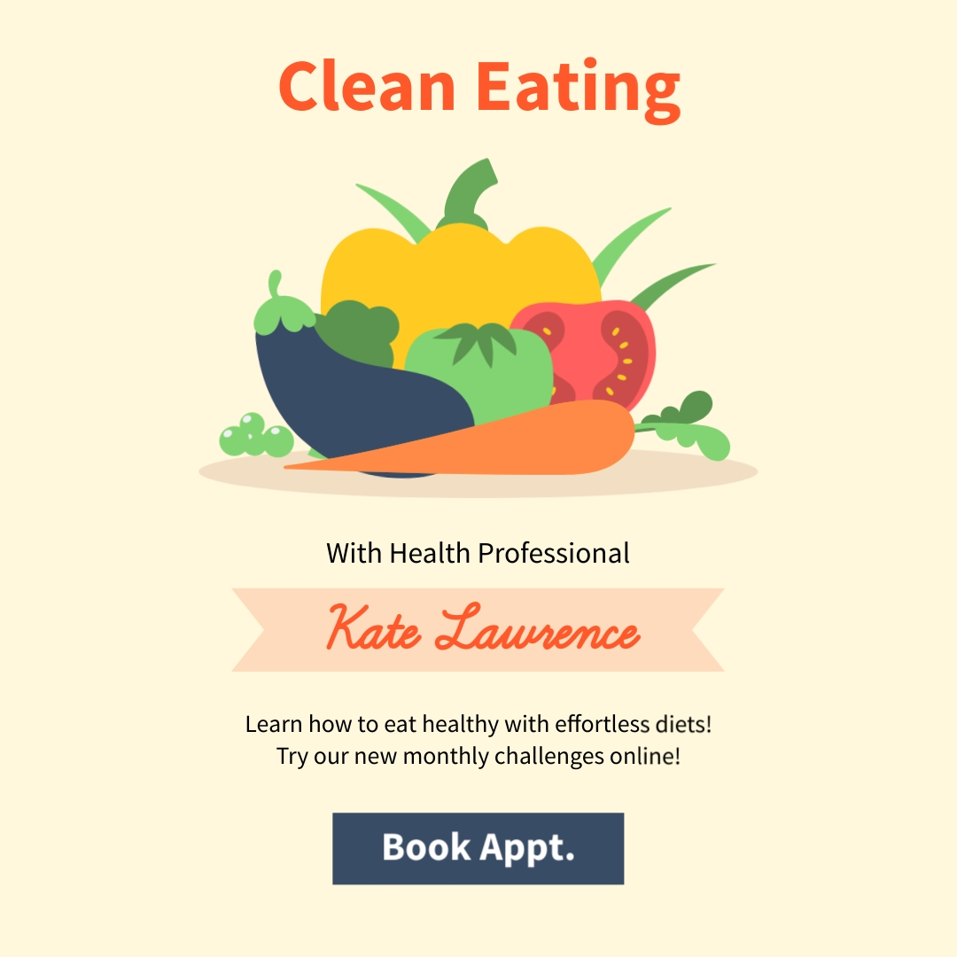 Clean Eating Square Template
