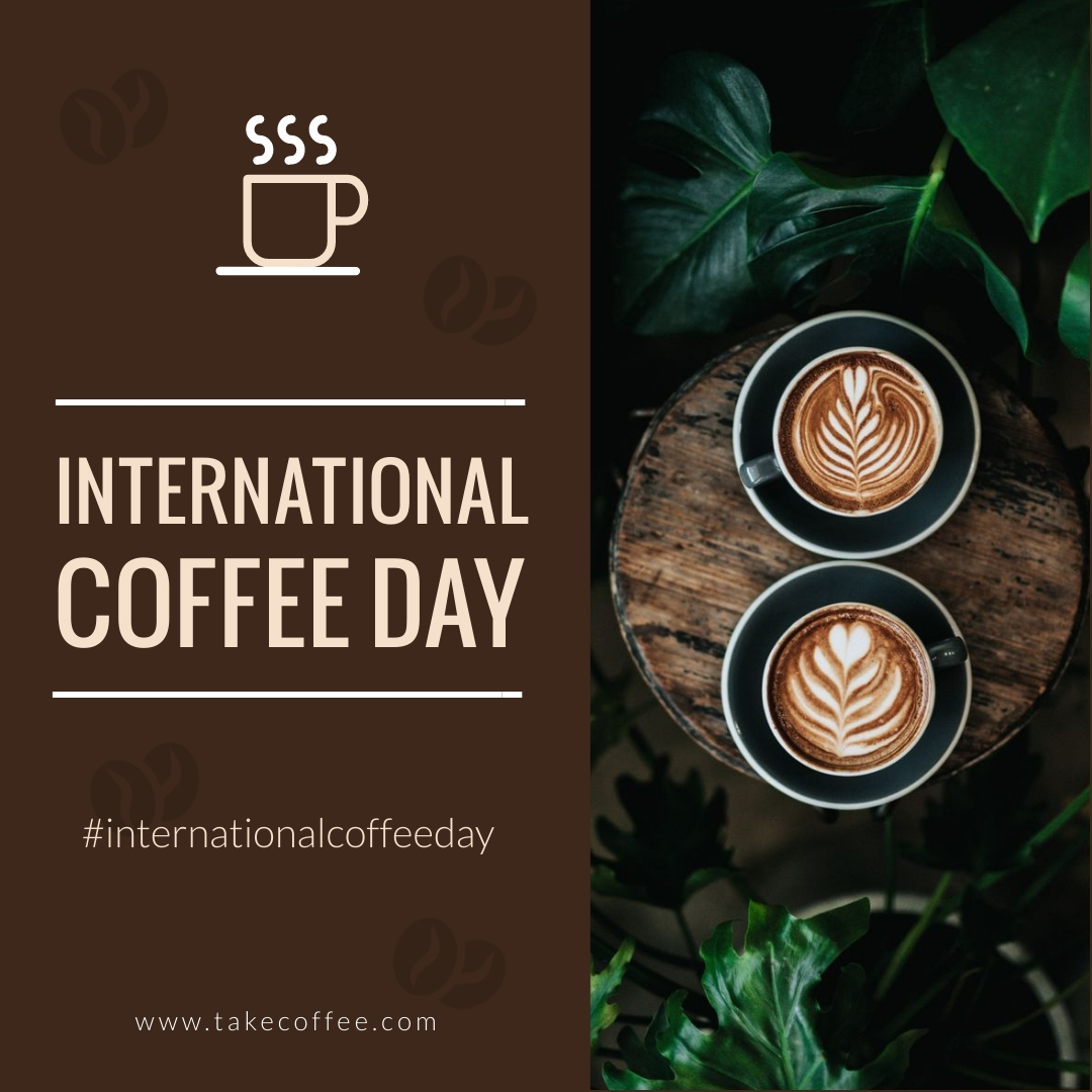 Coffee Day Animated Square Template