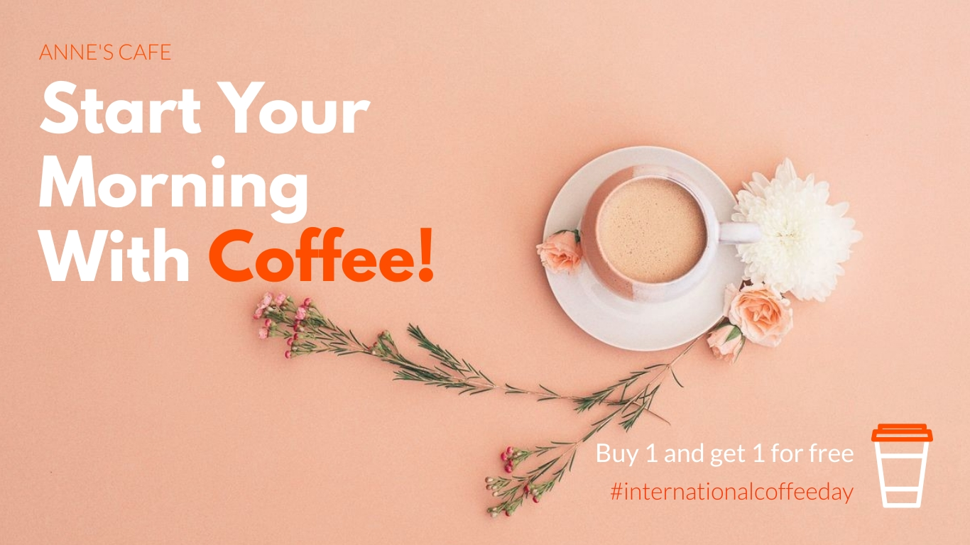 Coffee Day Offer Animated Wide Template