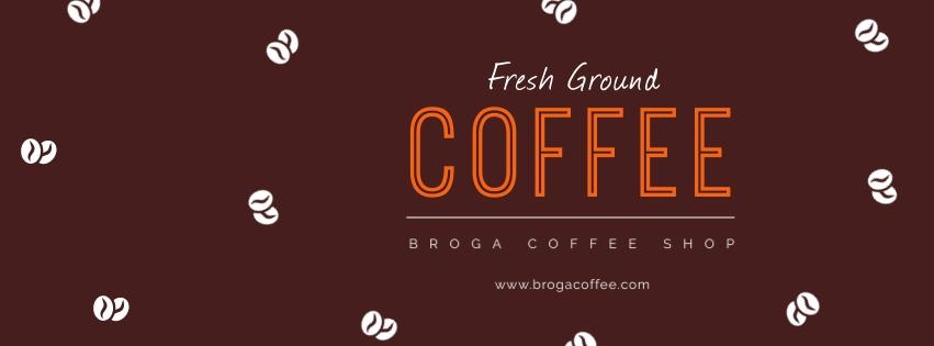 Coffee Shop Facebook Cover  Template