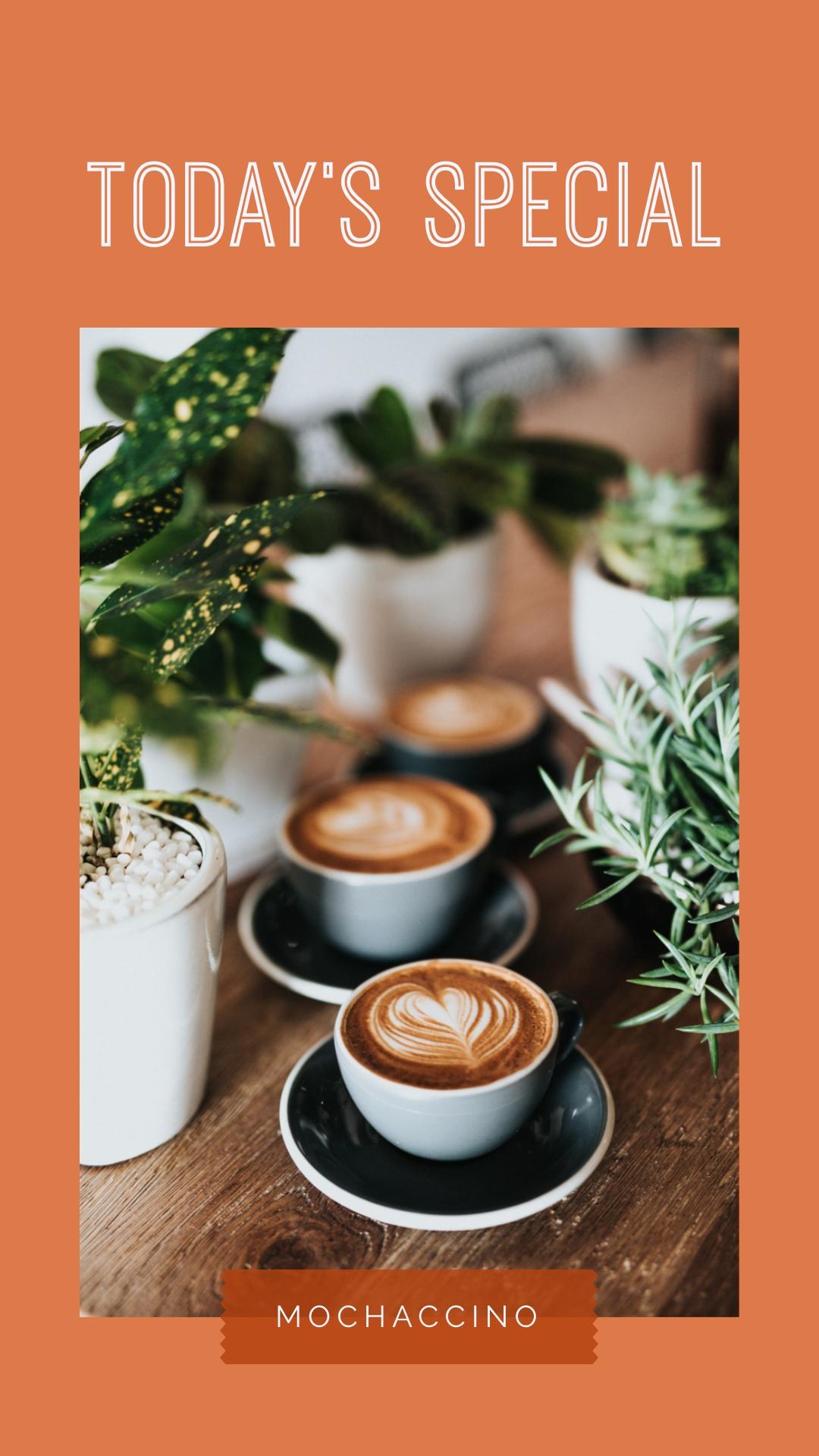 Coffee Shop Instagram Stories   Template