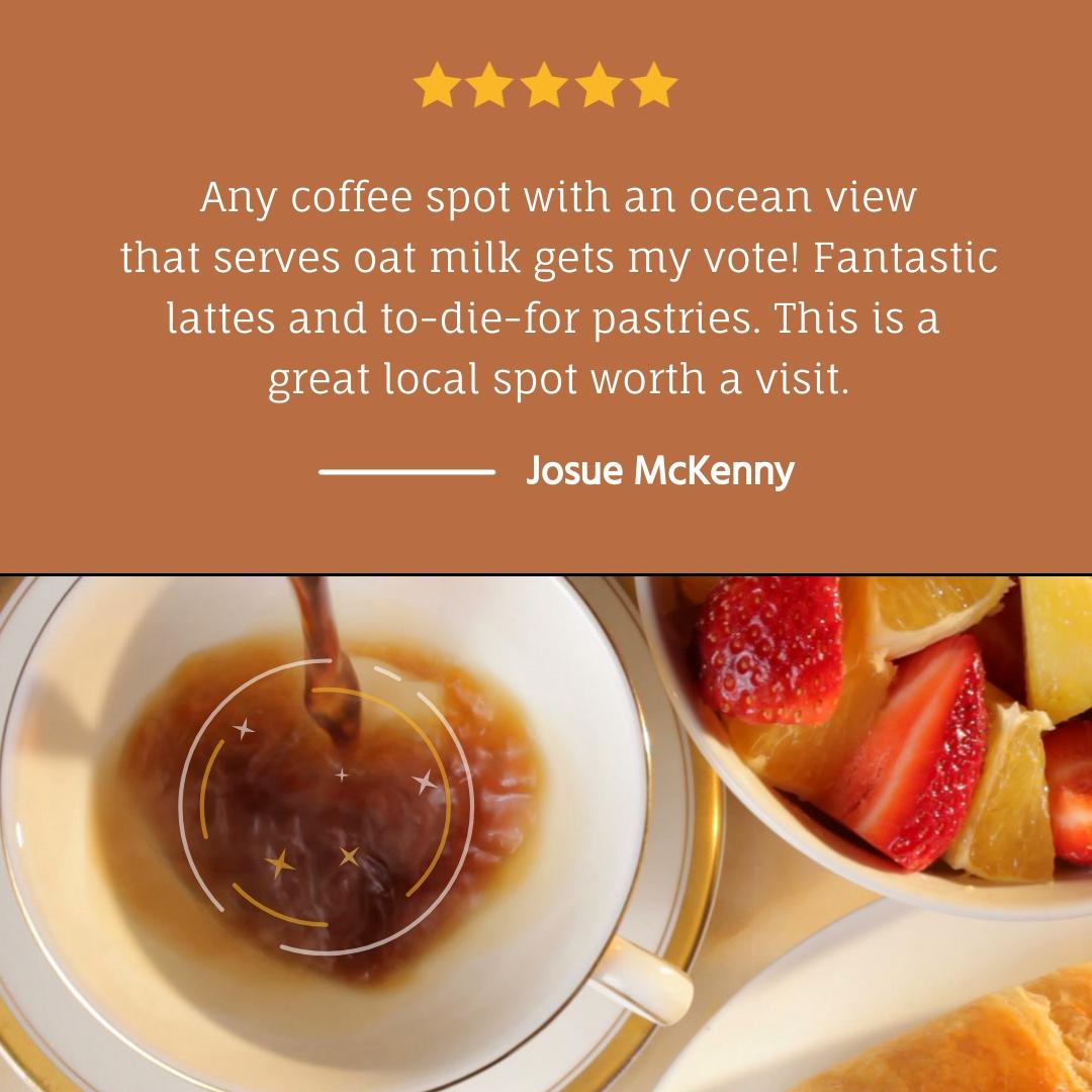 Coffee Shop - Video Testimonial Square Template