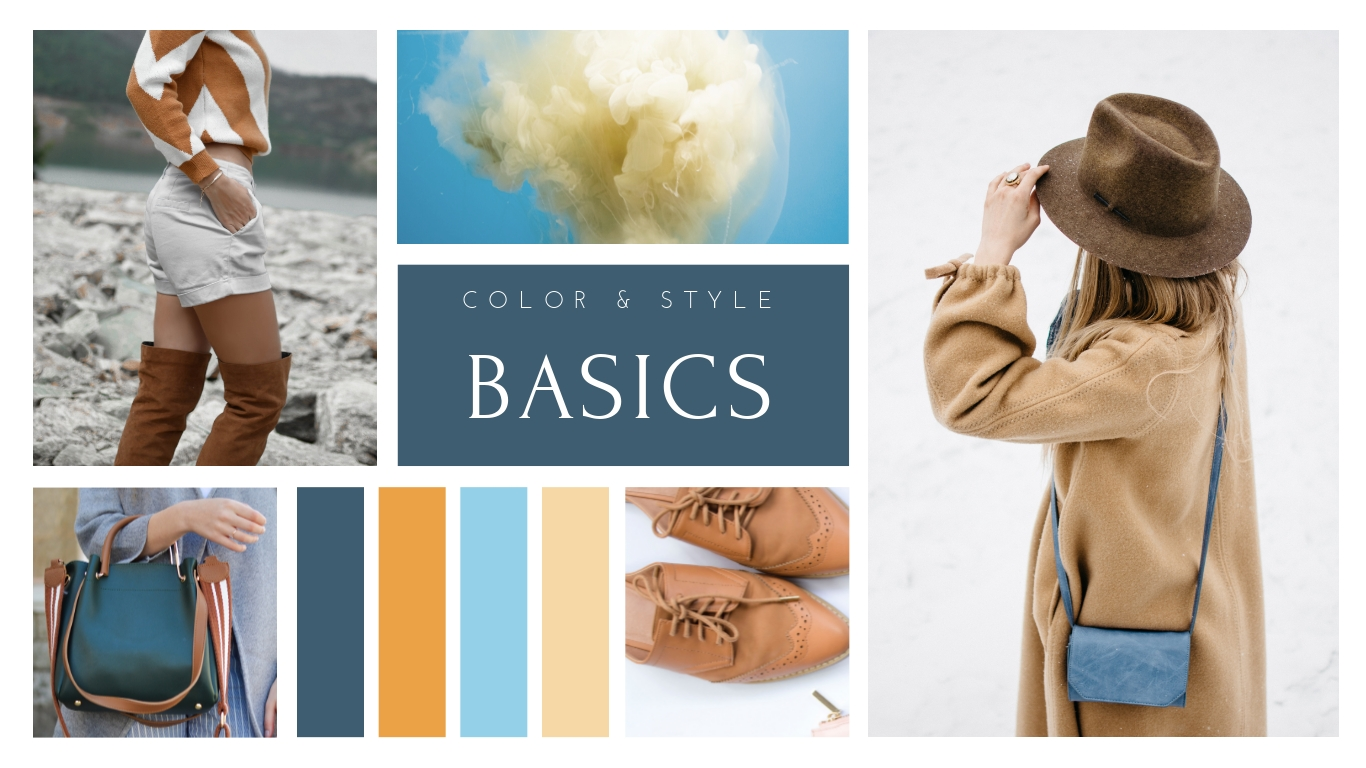 Color and Style Moodboard Template