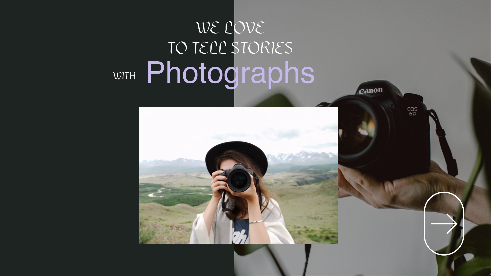 Commercial Photography Twitter Video Ad Template