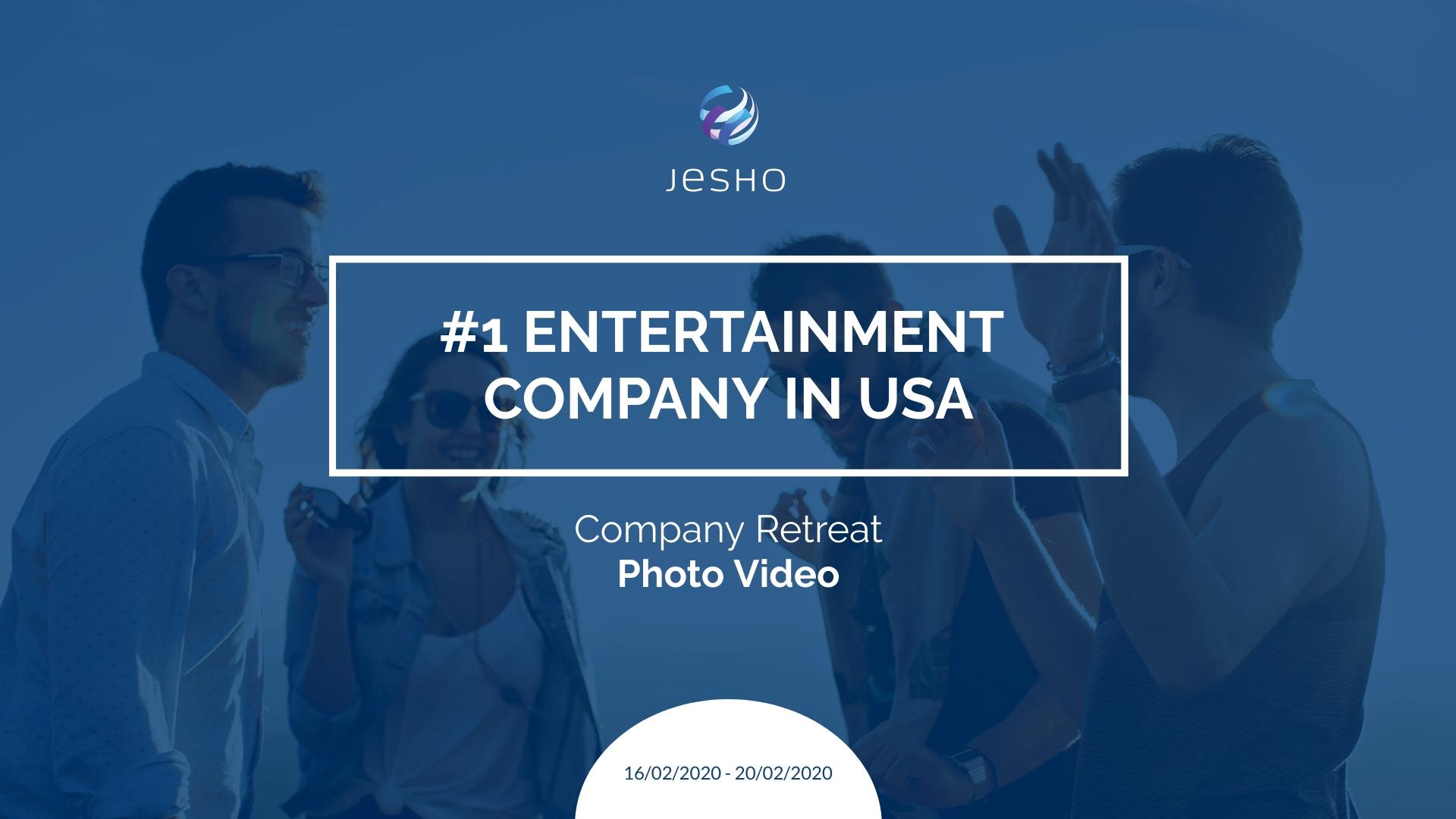 Company Retreat - Photo Video Template