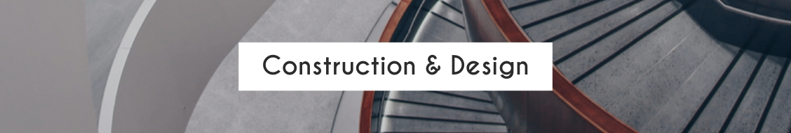 Construction and Design LinkedIn Header Template