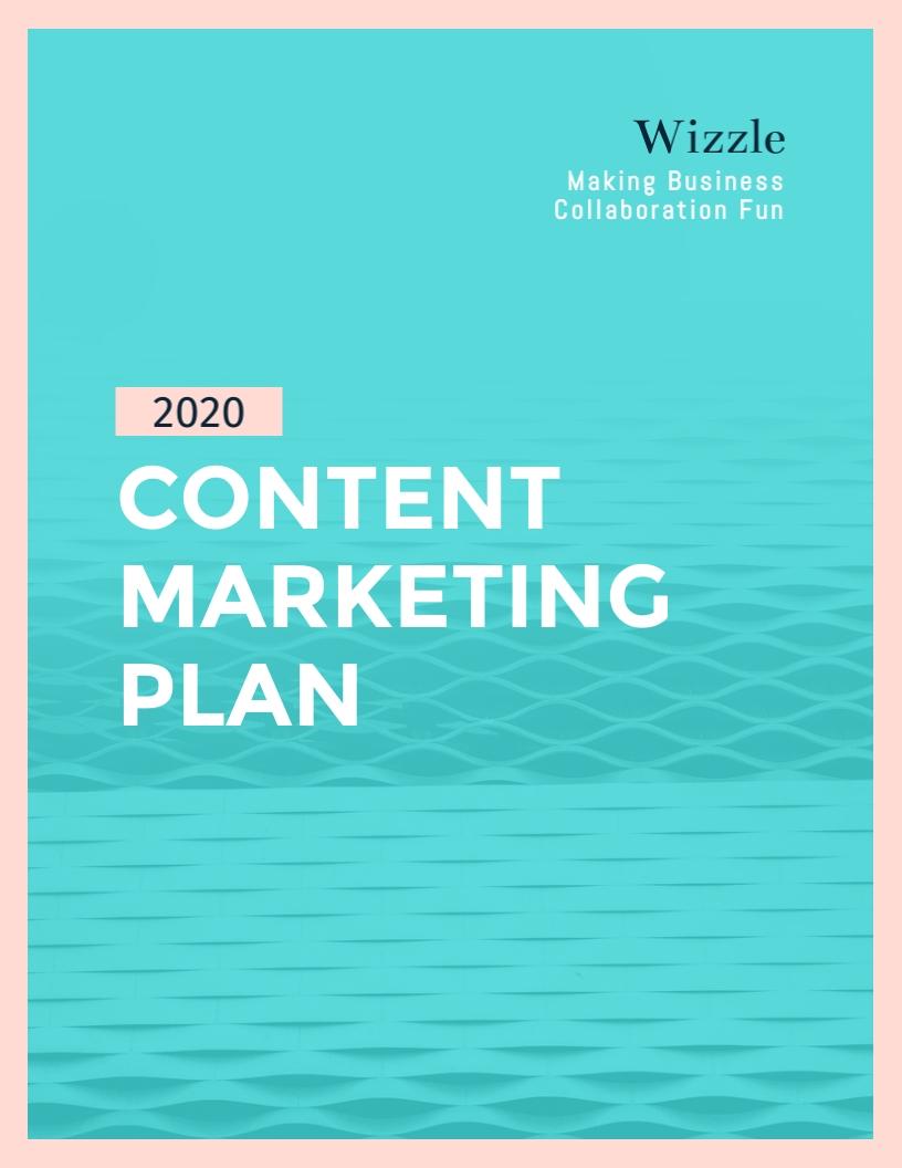 Content - Marketing Plan Template