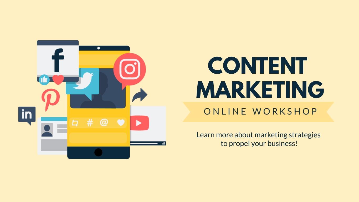 Content Marketing Workshop - Facebook Ad Template