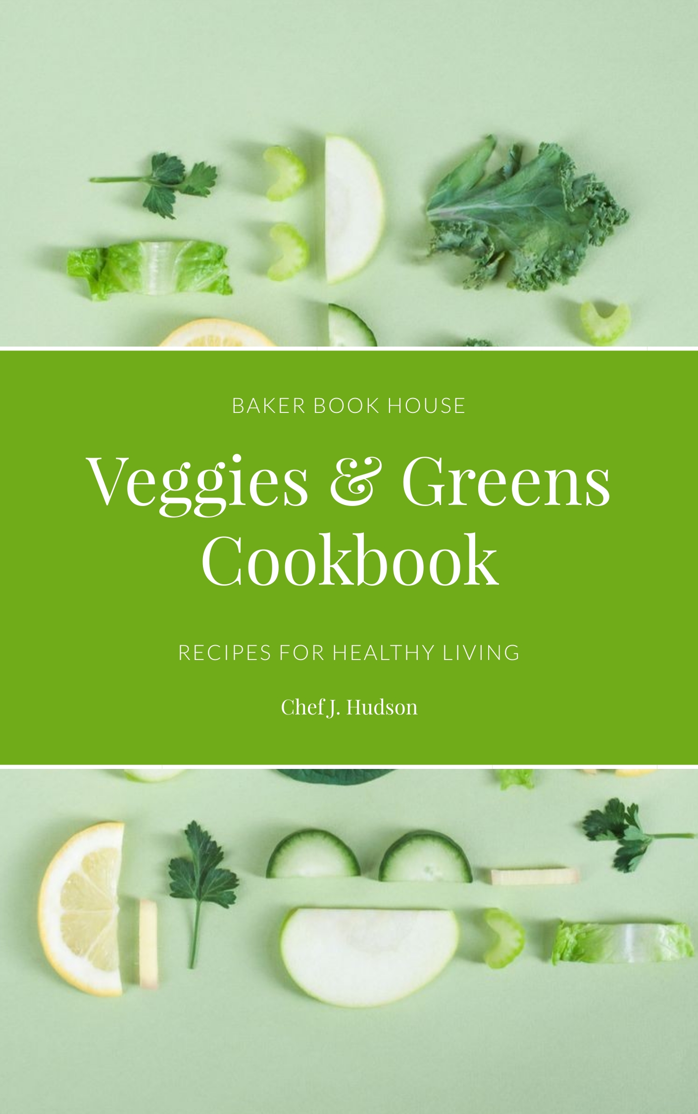 Cook - Book Cover Template