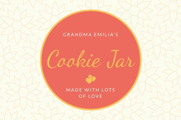 Cookie Jar Label Template