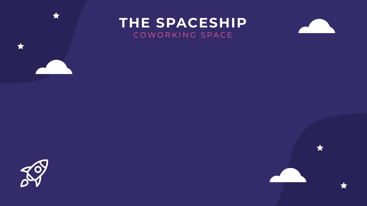Coworking Space - Zoom Background Template