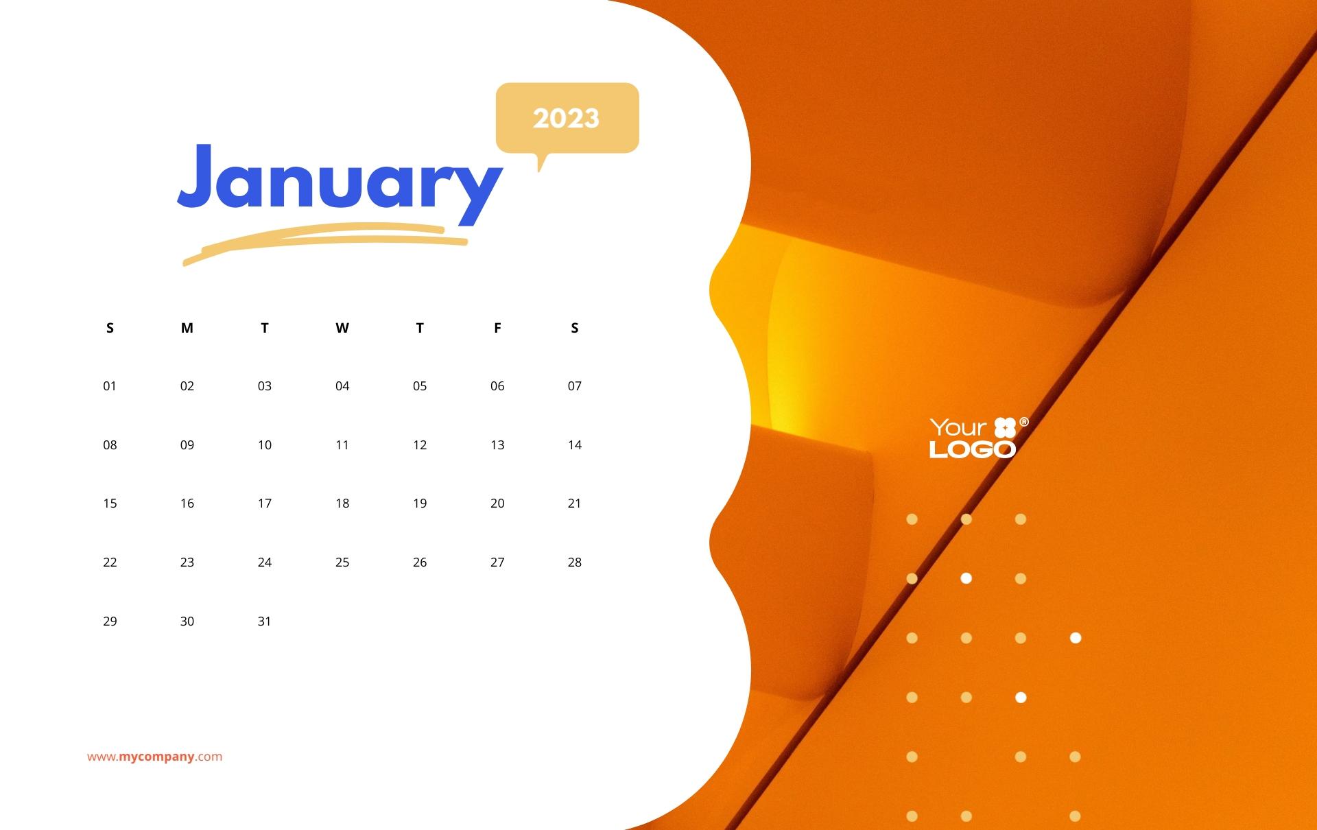 Creative Calendar Template