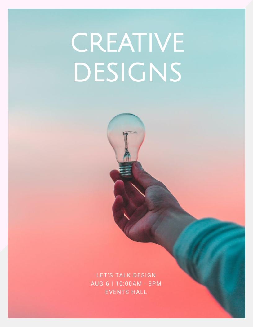 Creative Designs - Event Program Template