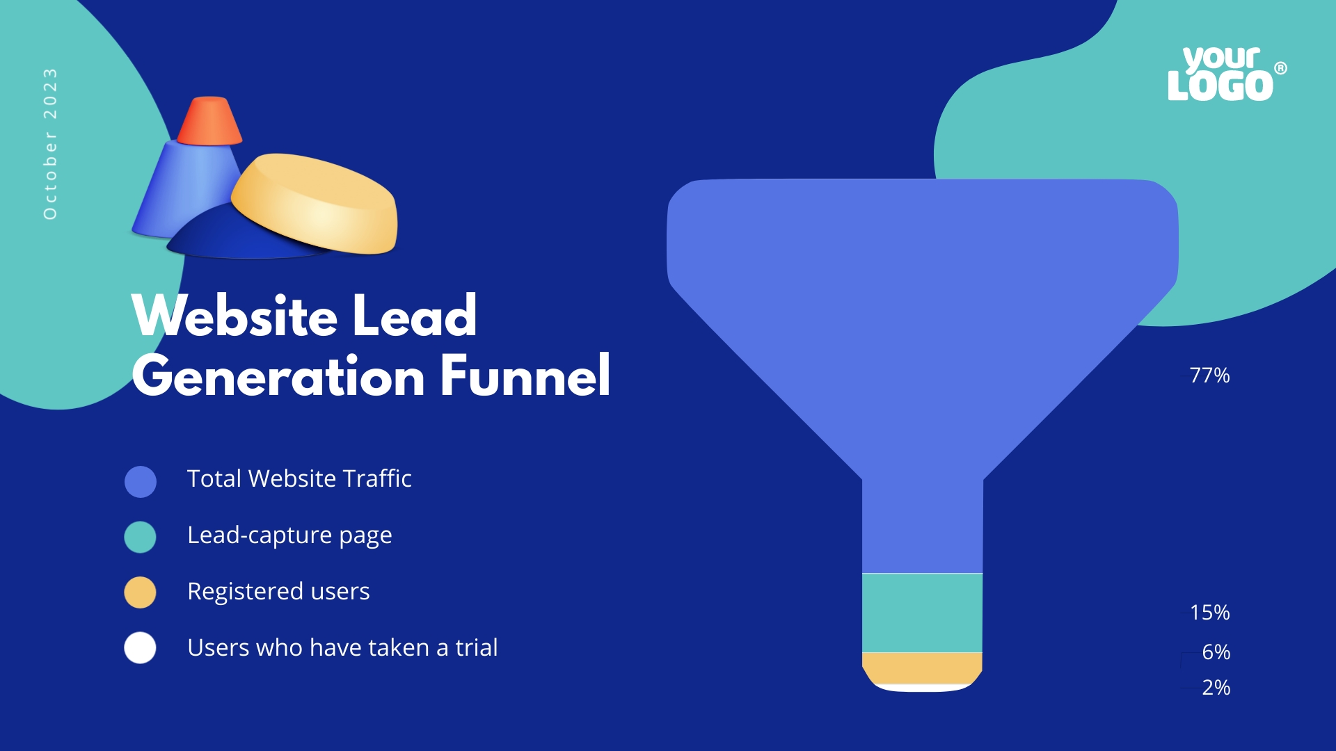 Creative Funnel Chart Template