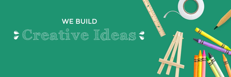 Creative Ideas Twitter Header Template