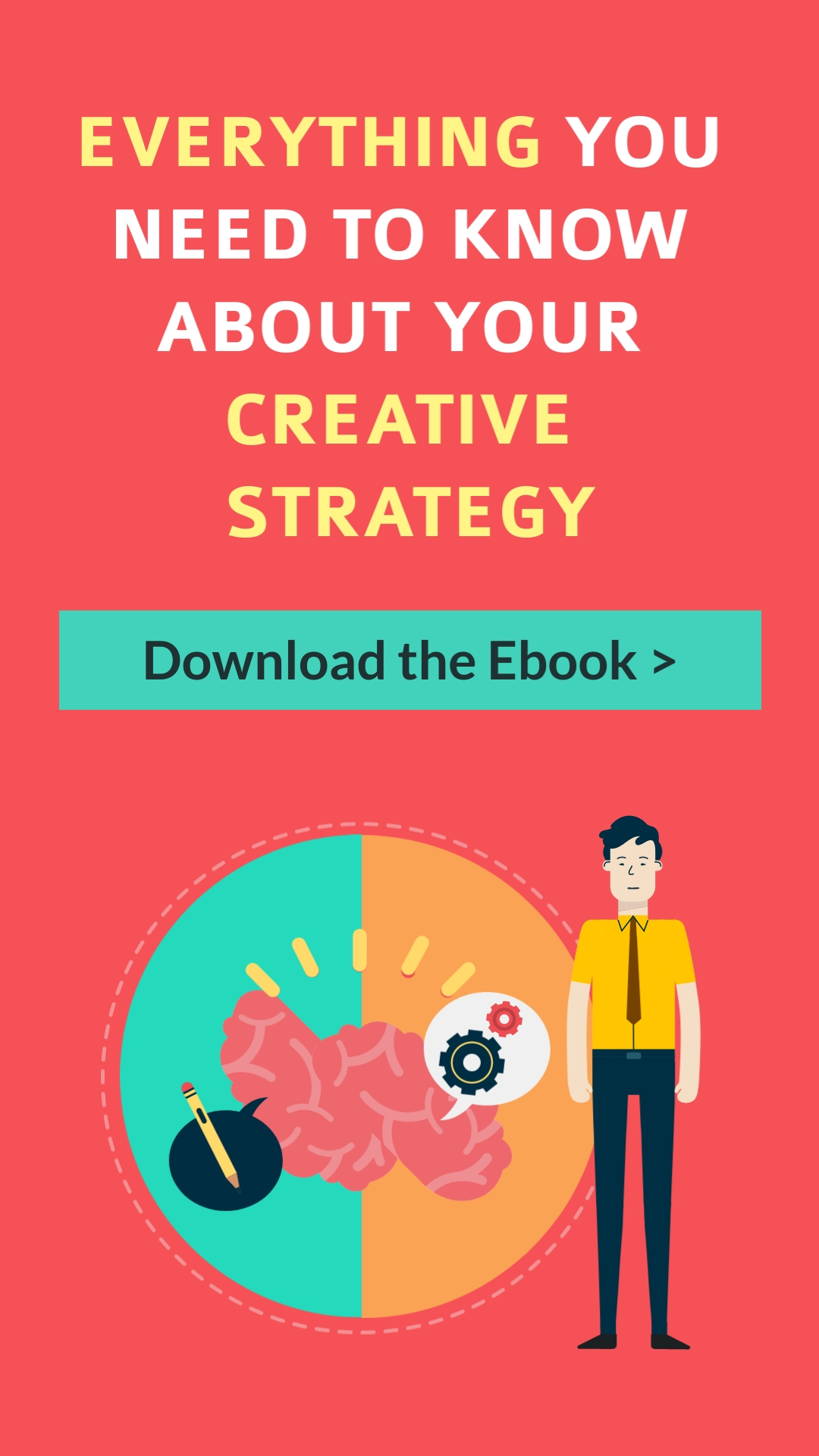 Creative Strategy Vertical Template
