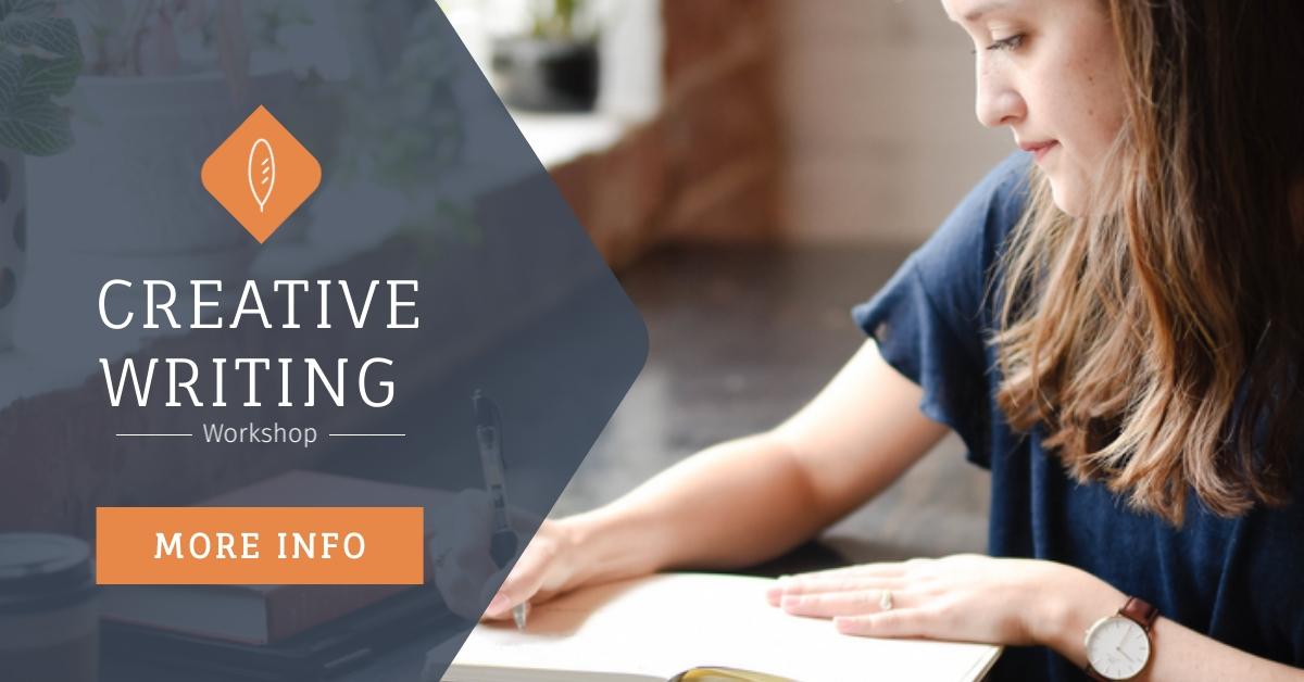 Creative Writing Workshop Facebook Ad  Template