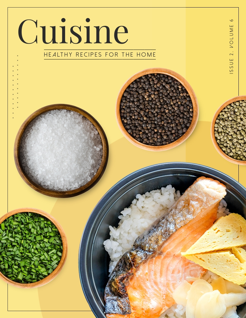 Cuisine - Magazine Cover Template