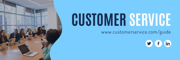 Customer Service Email Header Template