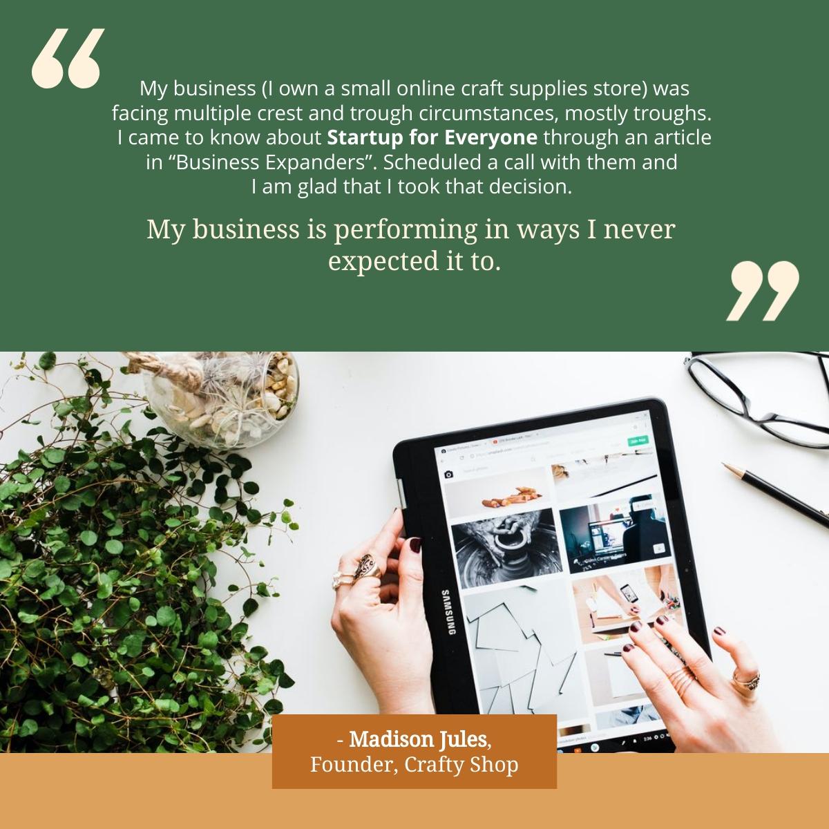 Customer Success Story - LinkedIn Post Template