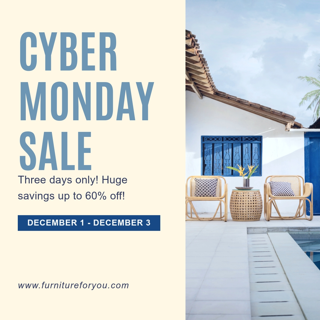 Cyber Monday Sale Blog Graphic Medium Template