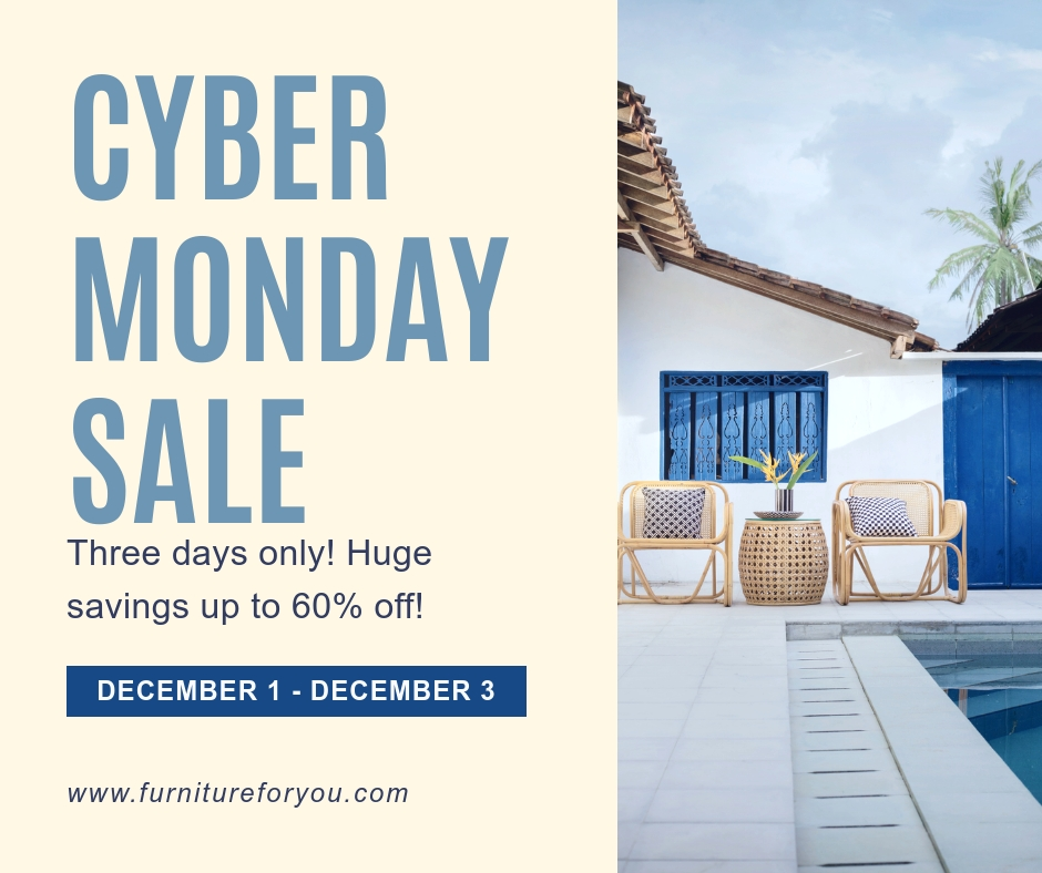 Cyber Monday Sale Facebook Post Template