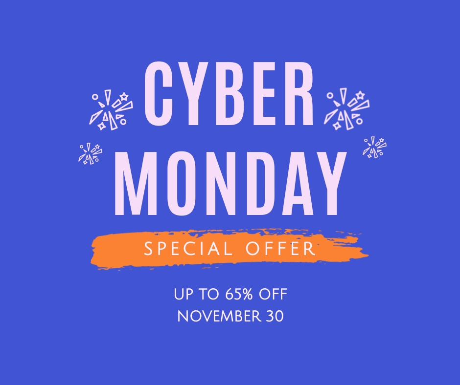 Cyber Monday Special Offer Facebook Post Template