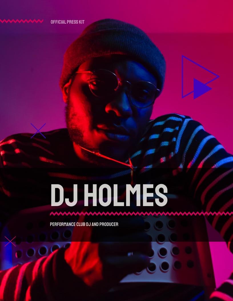 DJ Press - Kit Template
