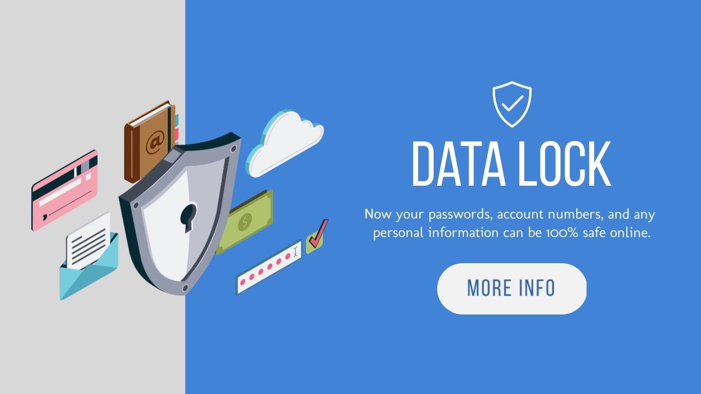 Data Lock - Twitter Ad Template