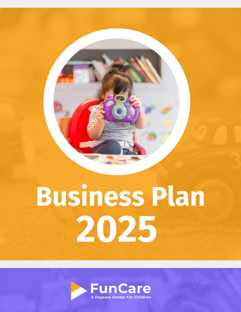 Daycare - Business Plan Template