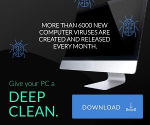 DeepClean Antivirus Medium Rectangle Template