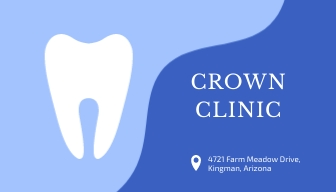 Dental Clinic Business Card Template