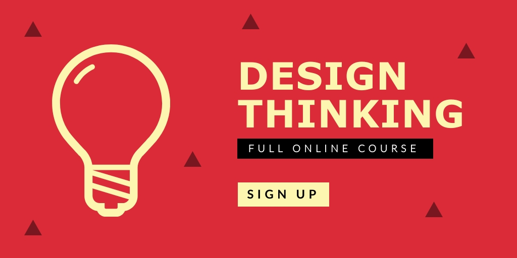 Design Thinking Twitter Post  Template